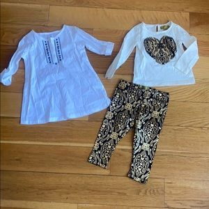18 month tunic and matching set